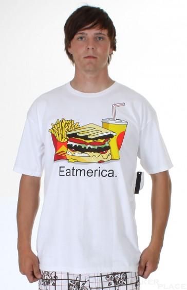 Emerica Basic Tee Eat White