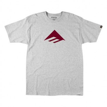 Emerica Junior Triangle 7.0 T-Shirt Basic grau rot
