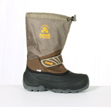 Kamik Freeridex Kinder Winterstiefel khaki