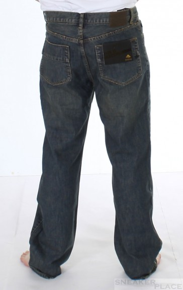 Emerica Denim Jeans Regulator Used Wash