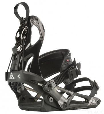 K2 Cinch CTC Snowboard Bindung schwarz