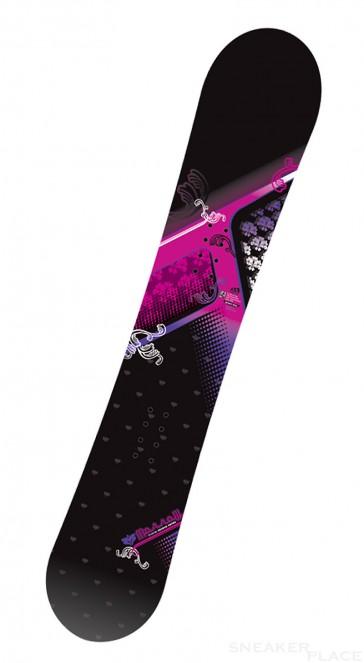 Morrow Seneca Damensnowboard schwarz