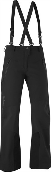 Salomon Quest Softshell Hose Woman schwarz