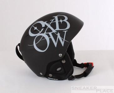 Oxbow Rwan Ski-/Snowboardhelm Logo schwarz