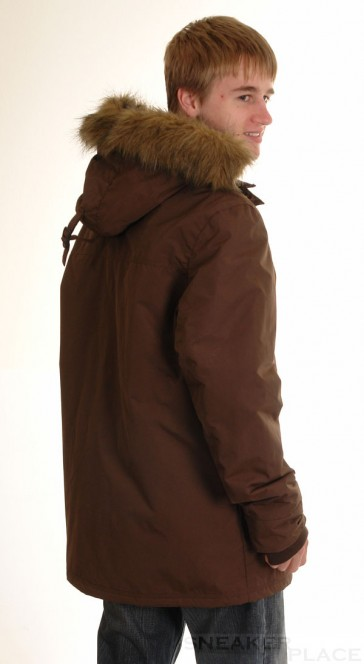 Ragwear Winterjacke/Parka Brown