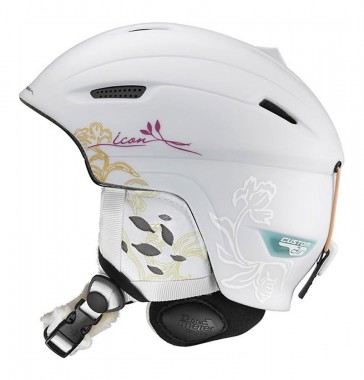 Salomon Icon Origins Custom Air Ski-/Snowboardhelm für Damen wei