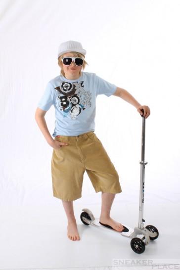 Ripzone Cord Beige Skatershort