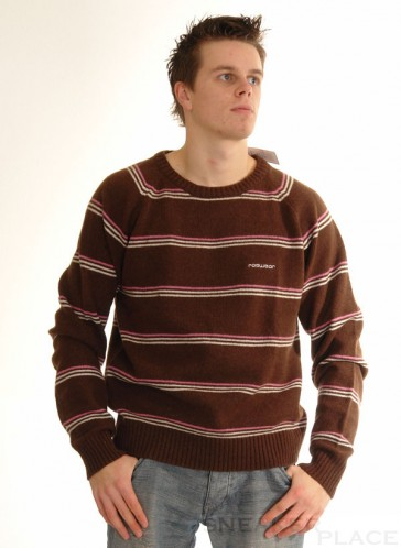 Ragwear Wollpullover Shady Brown