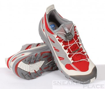 Salomon Smart Walker Cherry-X/Pewter/Light Grey Damenlaufschuh