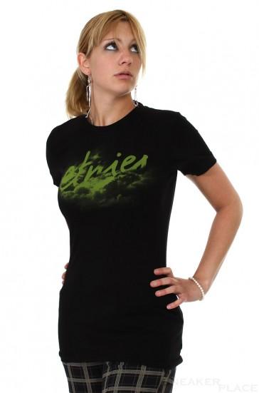 Etnies Damen T-Shirt schwarz grün
