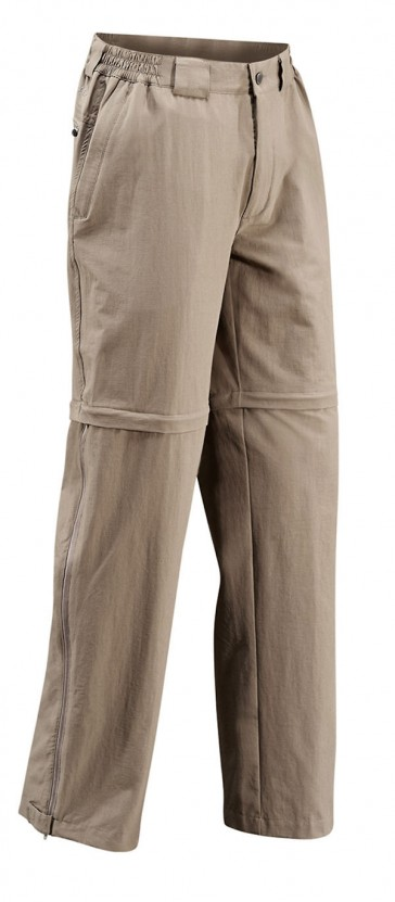 Vaude Männer Farley Stretch T-Zip Pants muddy