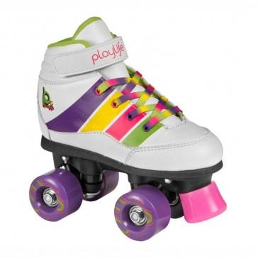 Playlife Groove weiß Rollschuhe für Kinder