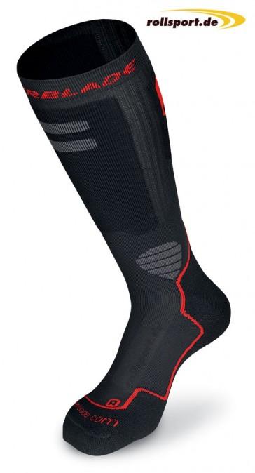 Rollerblade Inliner Socken schwarz rot