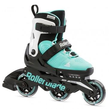 Rollerblade Microblade 3WD Mädchen Skates blau/weiß