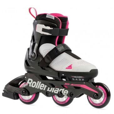 Rollerblade Microblade Free 3WD grau / rosa