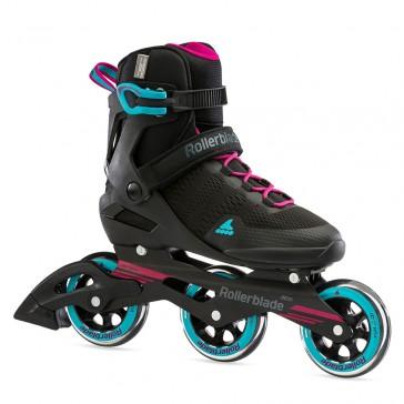 Rollerblade Sirio 100 3WD Damen schwarz / blau / pink
