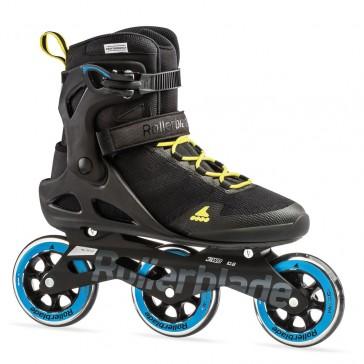 Rollerblade Sirio 100 3WD schwarz blau gelb