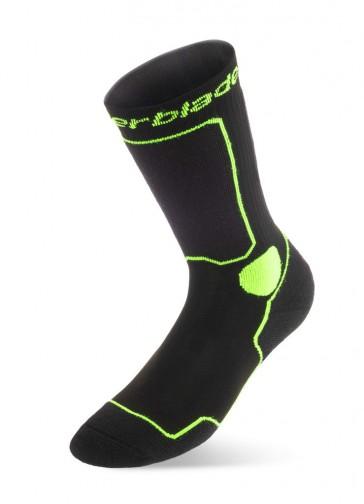 Rollerblade Sportsocken schwarz grün/gelb