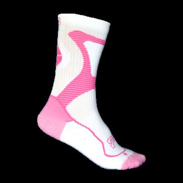 Seba FR Nano Skate Socken weiß pink