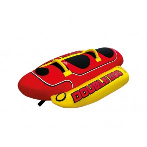 Airhead Towable Hot Dog Schwimminsel für 2 Personen