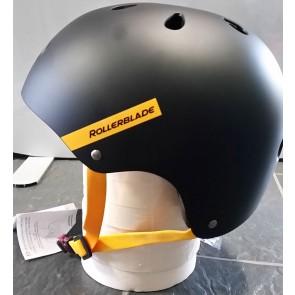 Rollerblade Downtown Helm schwarz gelb