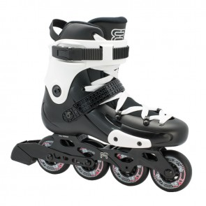 FR FRW 80 Damen Skates schwarz weiß