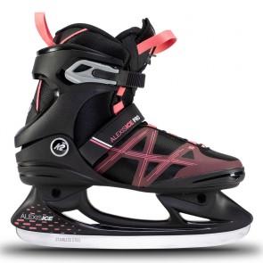 K2 Alexis Ice Pro Damen Schlittschuhe schwarz / rosa
