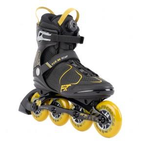 K2 Fit 90 Boa 2022 schwarz gelb