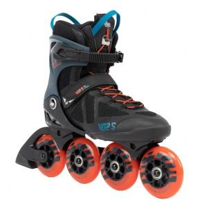 K2 VO2 S 90 Pro Herren 2022 schwarz blau orange