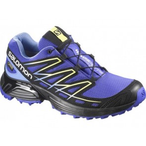 first rate 5a071 f3738 Salomon WINGS FLYTE GTX W blau schwarz