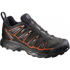 Salomon X Ultra Gtx M Grau Schwarz Orange