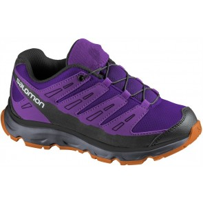 Kinderschuhe von Salomon Synapse Junior lila