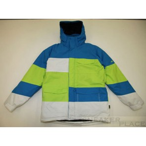 Ripzone Thermo Jacke Men Blue/Lime/White