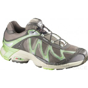 Salomon XT Whisper Women brown mid grey/lizard green Schuhe