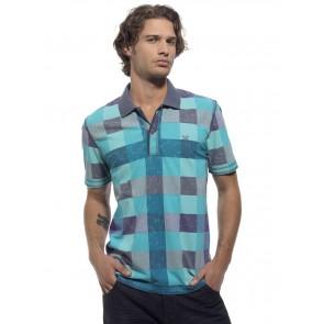 Oxbow Poloshirt Trucker hellblau/blau
