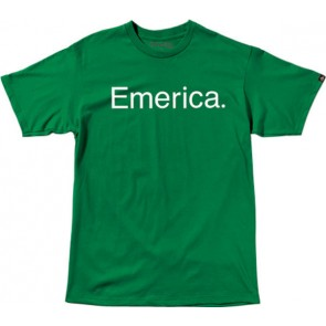 Emerica T-Shirt Pure 7.0 green/white
