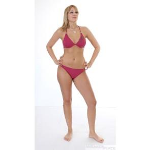 Jenna De Rosay Bikini Dark Pink