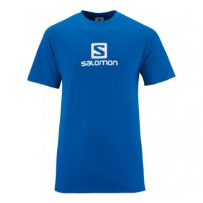 Salomon Cotton T-Shirt für Herren blau
