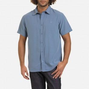 Oxbow Kurzarm Sommer Hemd Dazhou dusty Blue