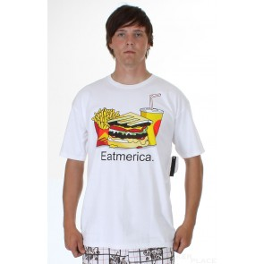 Emerica Basic Tee Eat White
