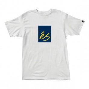 es Mainblock 0.9 Weiß T-Shirt