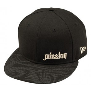 Mission schwarze New Era Cap