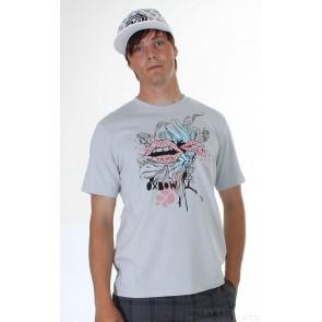 Oxbow T-Shirt Pacobioc2 Lipiz Print hellgrau