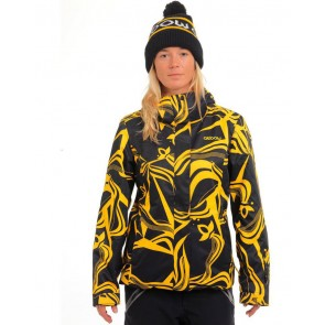 Oxbow Damensnowboardjacke Allover printed jacket FEELAIR REINA S