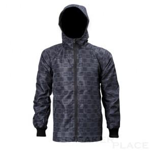 Wind und Regenjacke von Reell Grey/Check