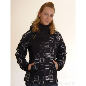 Ragwear Women Winterjacke Blond Black/White