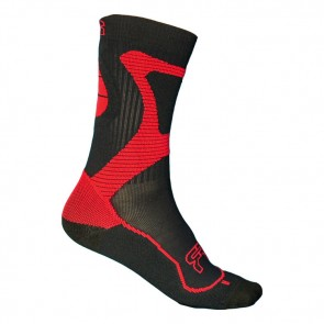 Seba FR Nano Inline Skates Socken schwarz rot