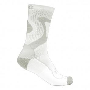 Seba FR Nano Skate Socken weiß grau