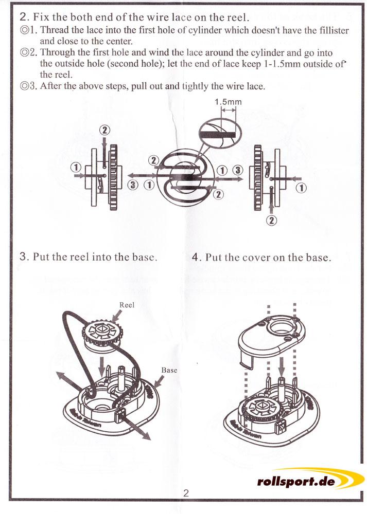 ATOP Bedienungsanleitung Schritt 2, 3 und 4