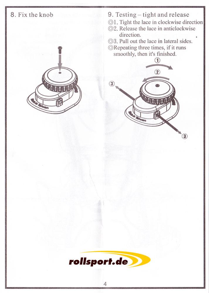 ATOP Bedienungsanleitung Schritt 8 und 9